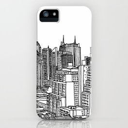 New York View 2 iPhone Case