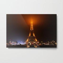 Ville des Lumières 5 Metal Print