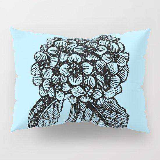 Blue Hydrangea Pillow Sham