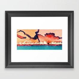 Dawn Out Framed Art Print