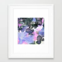 blush Framed Art Prints featuring Blush by Amy Sia