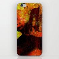 "ali gulec iPhone & iPod Skins featuring Cassius ""Ali"" by Joe Ganech"