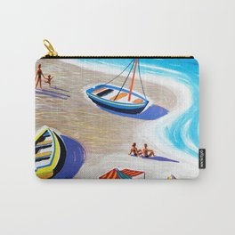 Plages de France Carry-All Pouch