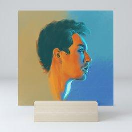 Klaus Hargreeves Oil Paints - Umbrella Academy  Mini Art Print