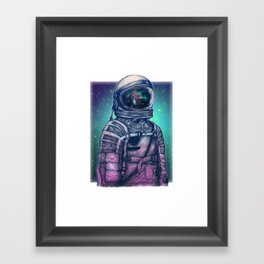 Galexy volunteer Framed Art Print
