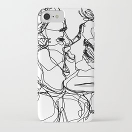 Boys kiss too iPhone Case