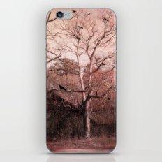 Vintage Barn Autumn Fall Gothic Raven Nature iPhone & iPod Skin