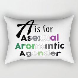 A is for Rectangular Pillow