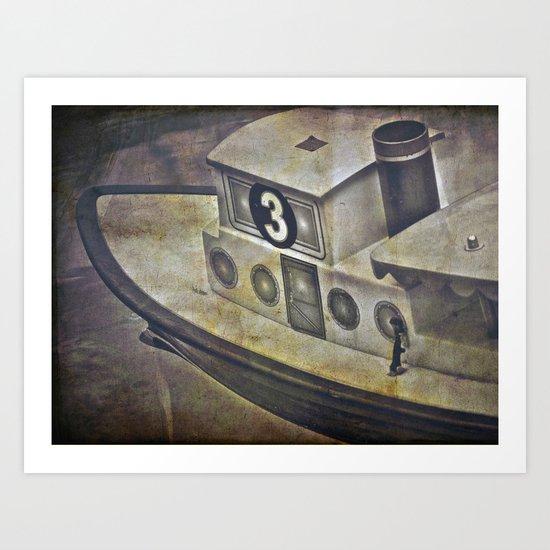 #3 Boat Art Print