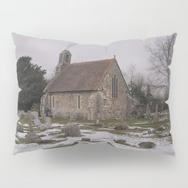 Seasalter Old Church In Winter Pillow Sham