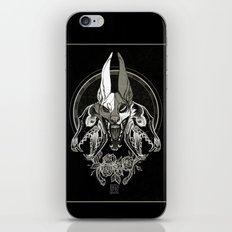 Malediction iPhone & iPod Skin