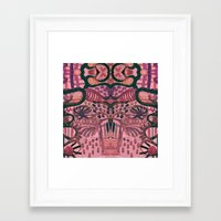 jungle Framed Art Prints featuring Jungle by Akwaflorell