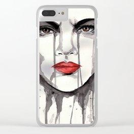 faithful Clear iPhone Case