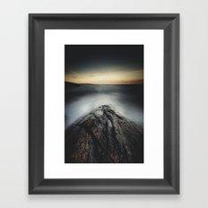 I´m a collider Framed Art Print