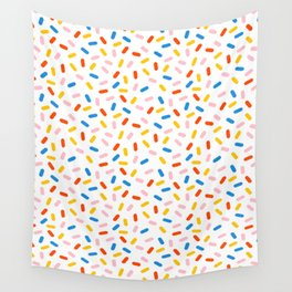 Livin' It - abstract pattern minimal modern primary colors pantone gender neutral retro throwback Wall Tapestry