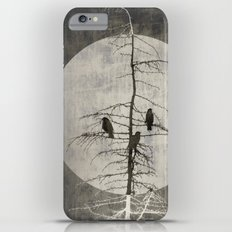 Full Moon and Crows iPhone 6s Plus Slim Case