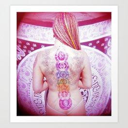 Chakra Path Art Print