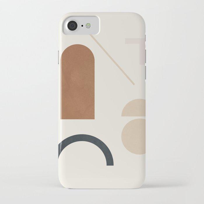 Geometric Modern Art 32 iPhone Case