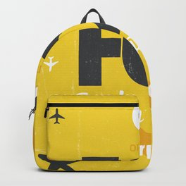 FCO Italy Rome Backpack