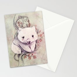 Wombat! Stationery Cards