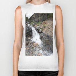 Waterfall below the Silver Cloud Mine, at 11,413 feet Biker Tank