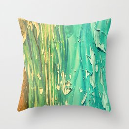 Old Wood 06 Throw Pillow