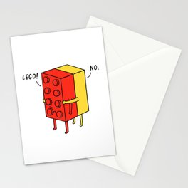I'll Never Le Go Stationery Cards