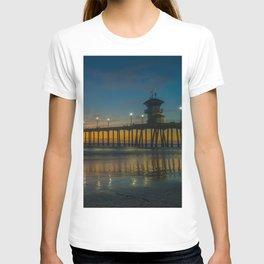 Pier Lights at Dusk T-shirt