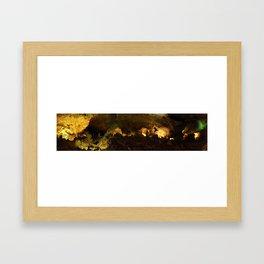 Carlsbad Caverns Panorama Framed Art Print