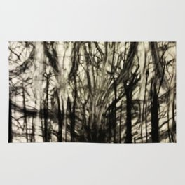 Lost in a Chaos Forest Rug
