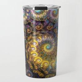 Nautilus fractal beauty Travel Mug