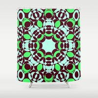 psycho Shower Curtains featuring Psycho by exit2wonderland