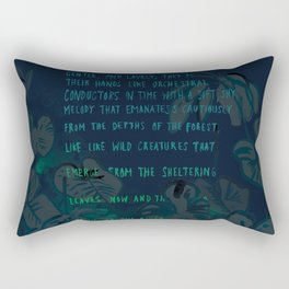 """Conquest of the Useless"" by Werner Herzog Print (v. 4) Rectangular Pillow"