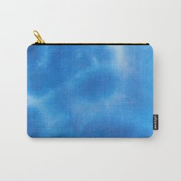 Duncan #2: Abstract Blue Watercolor Carry-All Pouch