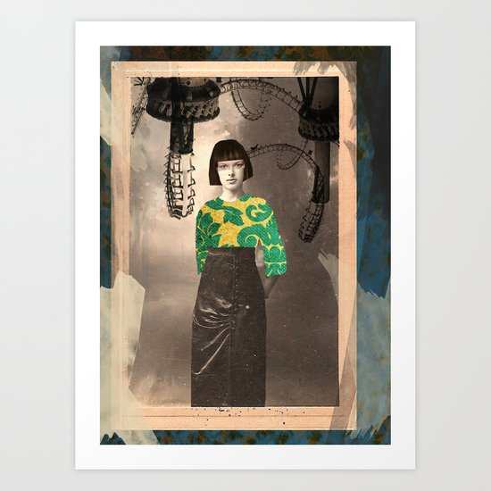 The Madame Art Print