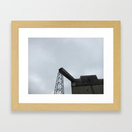 Broken Factory Framed Art Print