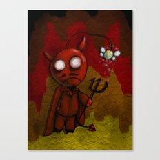 DevilBob Canvas Print