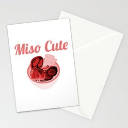 Miso Cute Stationery Cards
