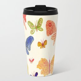 Beautiful butterflies Travel Mug