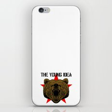 The Young Idea - Grizzly Logo iPhone & iPod Skin