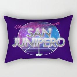 San Junipero - Black Mirror Rectangular Pillow