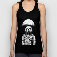 Looking for Space Unisex Tank Top