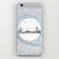 Venezia (Venice), Italy, Europe City Skyline Illustration Drawing iPhone & iPod Skin