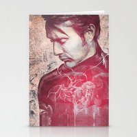 hannibal Stationery Cards featuring Hannibal by András Récze