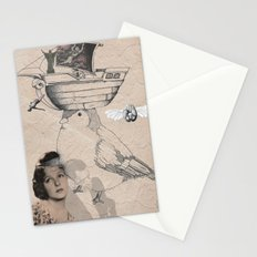 Future is in your head Stationery Cards