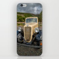 austin iPhone & iPod Skins featuring Austin 7 by Adrian Evans