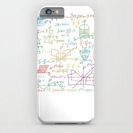 Funny Math Mathematics Nerd Geek Pi Maxwell iPhone Case