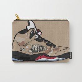 """Air Jordan V """"Supreme"""" camo Carry-All Pouch"""