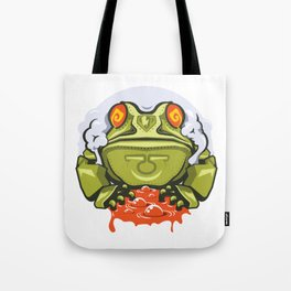 TOAD MECH STICKER - VAPORZOO Tote Bag
