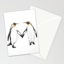 Penguins love Stationery Cards